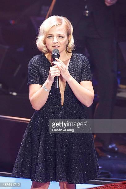 Annett Louisan attends the Echo Award 2015 show on March 26 2015 in Berlin Germany