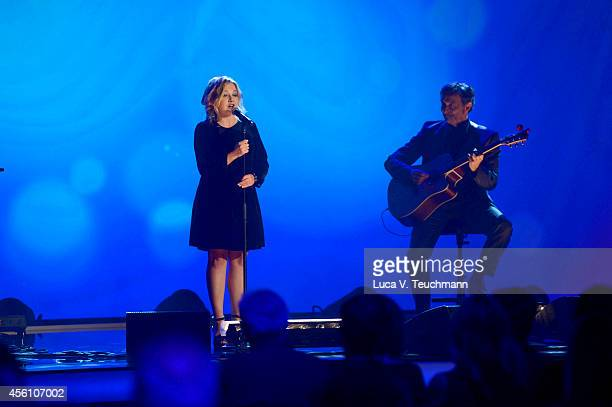 Annett Louisan performs at the Tribute To Bambi 2014 Show at Station on September 25 2014 in Berlin Germany