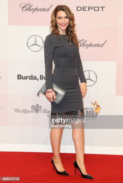 Annett Moeller arrives at Tribute To Bambi at Berlin Station on October 5 2017 in Berlin Germany