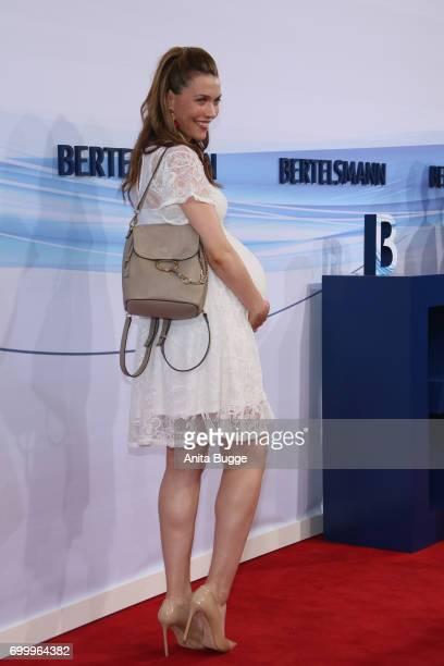 Annett Moeller attends the Bertelsmann Summer Party at Bertelsmann Repraesentanz on June 22 2017 in Berlin Germany