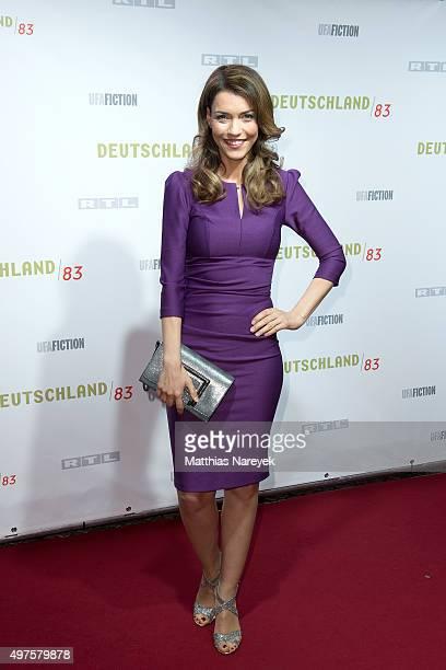 Annett Moeller attends the 'Deutschland 83' premiere at Babylon on November 17 2015 in Berlin Germany