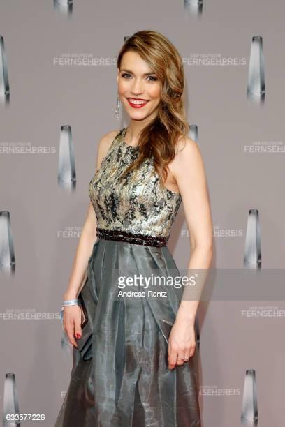 Annett Moeller attends the German Television Award at Rheinterrasse on February 2 2017 in Duesseldorf Germany