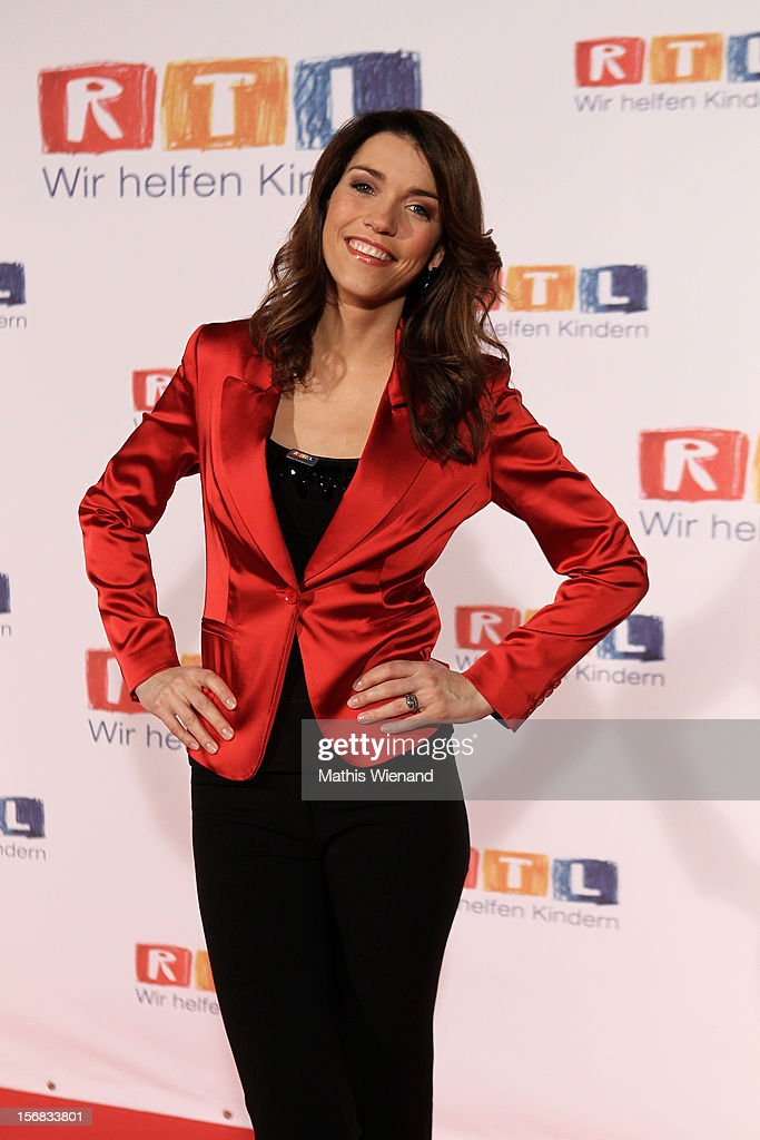 Annett Moeller attends the 'RTL Spendenmarathon' at RTL Studio Huerth on November 22, 2012 in Cologne, Germany.