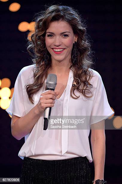 Annett Moeller attends the RTL TV Show 'It Takes 2' on November 8 2016 in Cologne Germany The show will be aired on January 15 2017 on RTL
