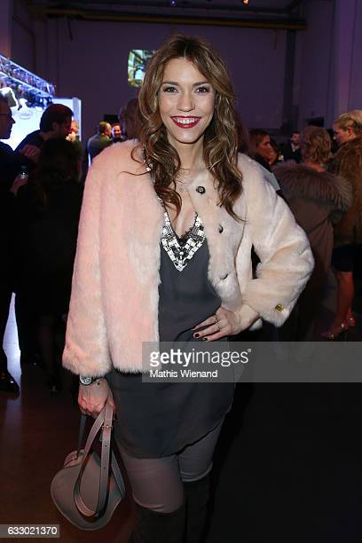 Annett Moeller attends the Thomas Rath show during Platform Fashion January 2017 at Areal Boehler on January 29 2017 in Duesseldorf Germany