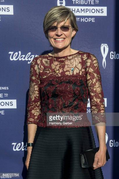 Annette Bakker attends the Global Genes' 6th Annual Tribute To Champions Of Hope Awards at City National Grove of Anaheim on September 16 2017 in...
