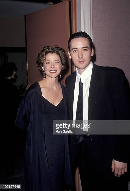 Annette Bening and John Cusack during 48th Annual Golden Globe Awards at Beverly Hilton Hotel in Beverly Hills California United States