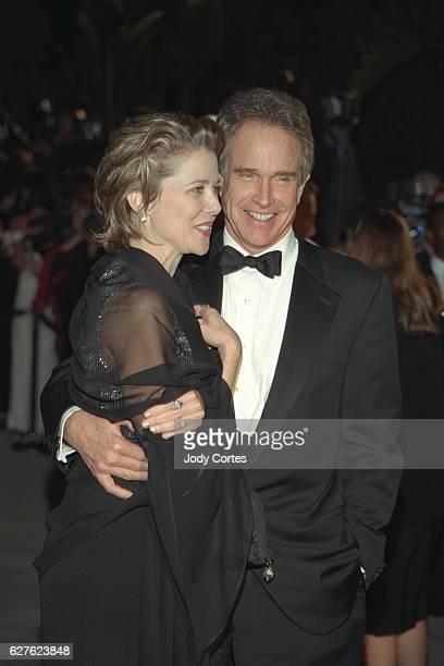 Annette Bening and Warren Beatty arrive