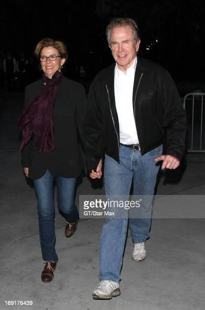 Annette Bening and Warren Beatty as seen on May 20 2013 in Los Angeles CA