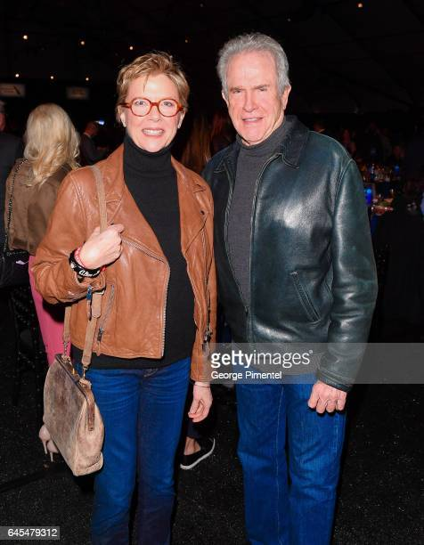 Annette Bening and Warren Beatty attend the 2017 Film Independent Spirit Awards at the Santa Monica Pier on February 25 2017 in Santa Monica...