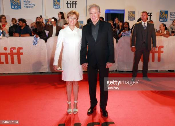 Annette Bening and Warren Beatty attend the 'Film Stars Don't Die in Liverpool' premiere during the 2017 Toronto International Film Festival at Roy...