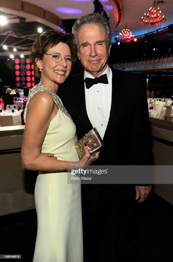 Annette Bening and Warren Beatty attends the 16th Annual Critics Choice Movie Awards at the Hollywood Palladium on January 14, 2011 in Los Angeles, California.