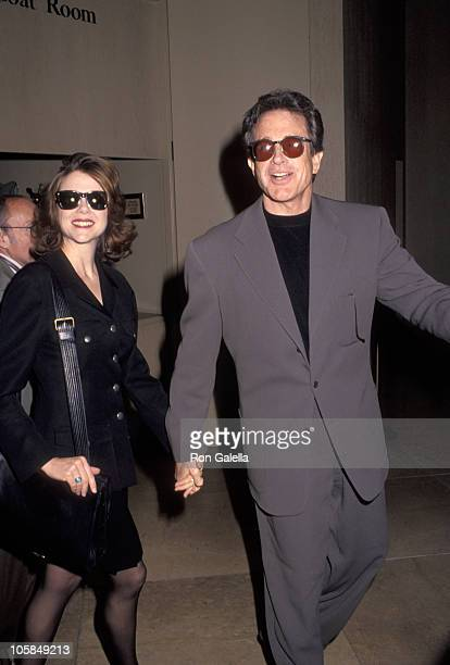 Annette Bening and Warren Beatty during 64th Annual Academy Awards Luncheon at Beverly Hilton Hotel in Beverly Hills California United States