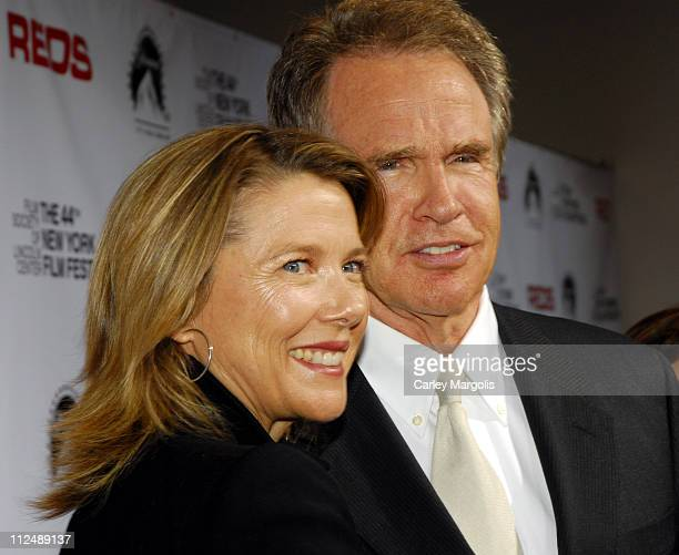 Annette Bening and Warren Beatty during The 44th New York Film Festival 25th Anniversary Screening of 'Reds' at Alice Tully Hall at Lincoln Center in...