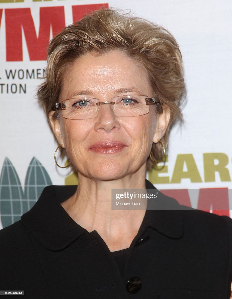 Annette Bening arrives at The International Women's Media Foundation's 'Courage In Journalism' awards held at Beverly Hills Hotel on October 21, 2010 in Beverly Hills, California.