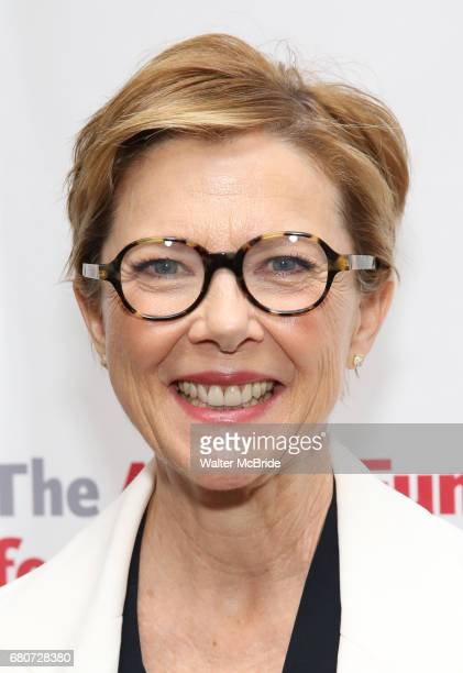 Annette Bening attends The Actors Fund Annual Gala at the Marriott Marquis on 5/8//2017 in New York City