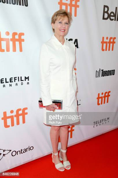 Annette Bening attends the 'Film Stars Don't Die in Liverpool' premiere during the 2017 Toronto International Film Festival at Roy Thomson Hall on...