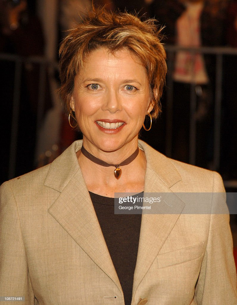 <a gi-track='captionPersonalityLinkClicked' href=/galleries/search?phrase=Annette+Bening&family=editorial&specificpeople=202568 ng-click='$event.stopPropagation()'>Annette Bening</a> during 2005 Toronto Film Festival - 'Mrs. Harris' Premiere at Roy Thompson Hall in Toronto, Ontario, Canada.