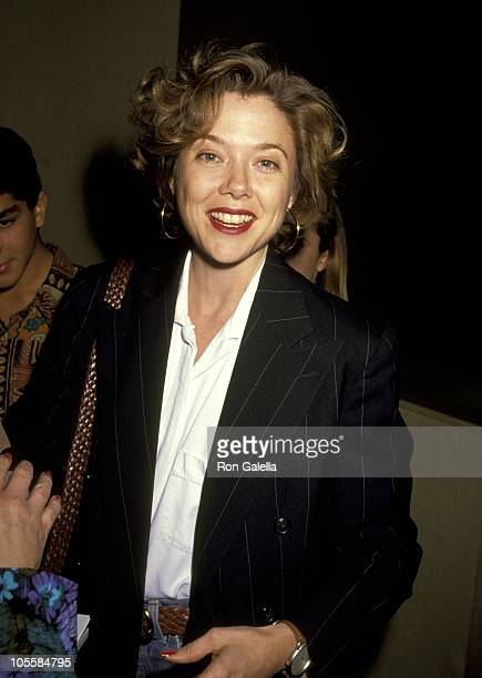 Annette Bening during 48th Annual Golden Globe Rehearsals at Beverly Hilton Hotel in Beverly Hills California United States
