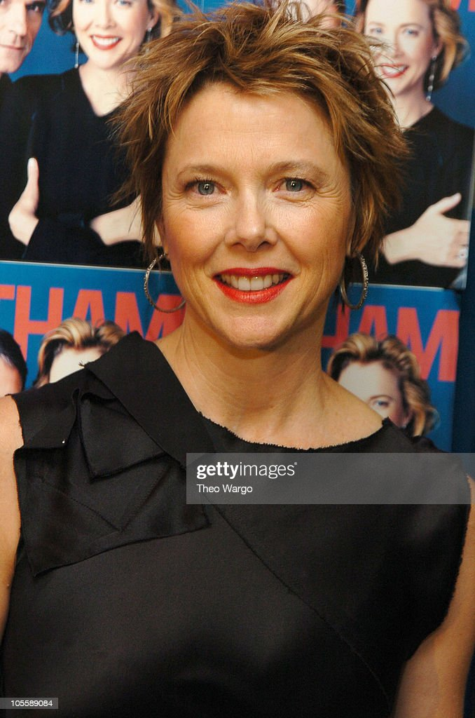 <a gi-track='captionPersonalityLinkClicked' href=/galleries/search?phrase=Annette+Bening&family=editorial&specificpeople=202568 ng-click='$event.stopPropagation()'>Annette Bening</a> during 'Being Julia' - New York Premiere - Arrivals at The Paris Theatre in New York City, New York, United States.