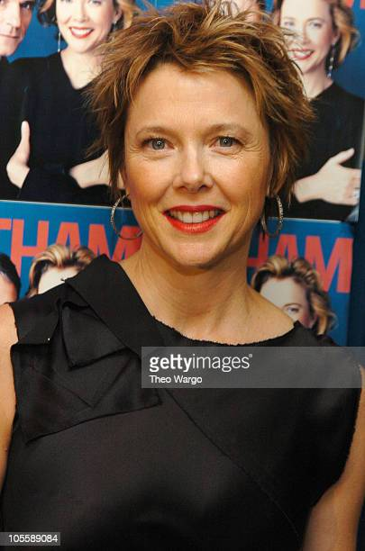 Annette Bening during 'Being Julia' New York Premiere Arrivals at The Paris Theatre in New York City New York United States