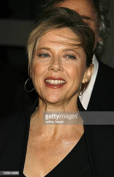 Annette Bening during Billy Wilder Theater Opening Tribute at Hammer Museum Arrivals at Hammer Museum in Westwood California United States