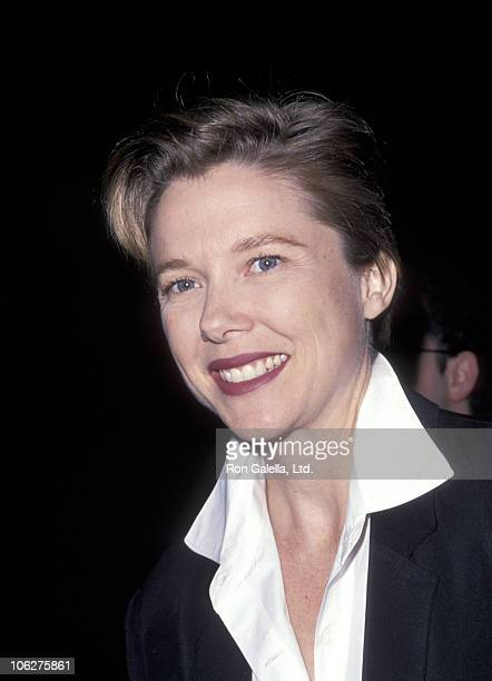 Annette Bening during 'Falsettos' Los Angeles Opening at Doolittle Theater in Hollywood California United States