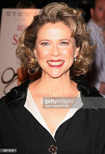 Annette Bening during 'Running with Scissors' Los Angeles Premiere Arrivals at The Academy in Beverly Hills California United States
