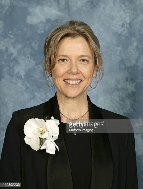 Annette Bening during Society of Camera Operators Lifetime Achievement Awards at Leonard H Goldenson Theatre in North Hollywood California United...