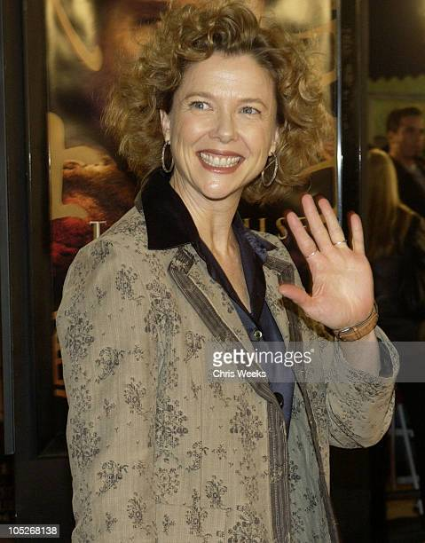 Annette Bening during 'The Last Samurai' Los Angeles Premiere at Mann's Village Theater in Westwood California United States