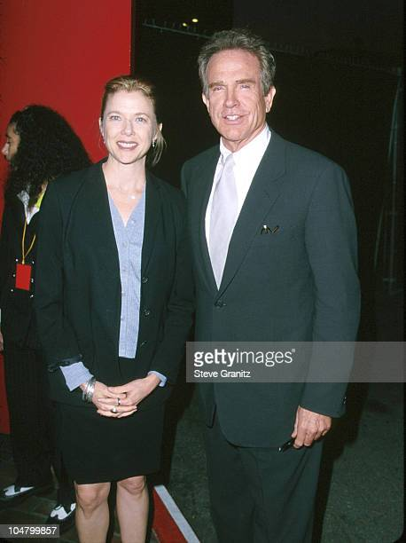 Annette Bening Warren Beatty during 11th Annual AIDS Project Los Angeles 'Commitment to Life' Gala at Universal Amphitheatre in Universal City...