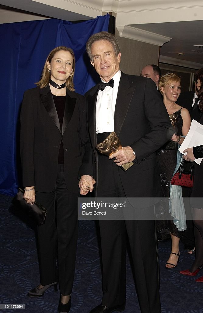 Annette Benning & Warren Beatty, The Orange British Academy Film Awards (bafta) 2002 After Party, At The Odeon, Leicester Square, London
