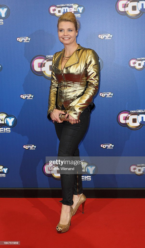 Annette Frier attends the 17th Annual of the German Comedy Awards at Coloneum on October 15, 2013 in Cologne, Germany.
