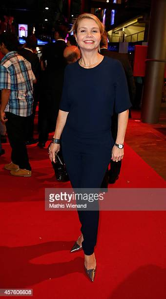 Annette Frier attends the 18th Annual German Comedy Awards at Coloneum on October 21 2014 in Cologne Germany The show will be aired on RTL on October...
