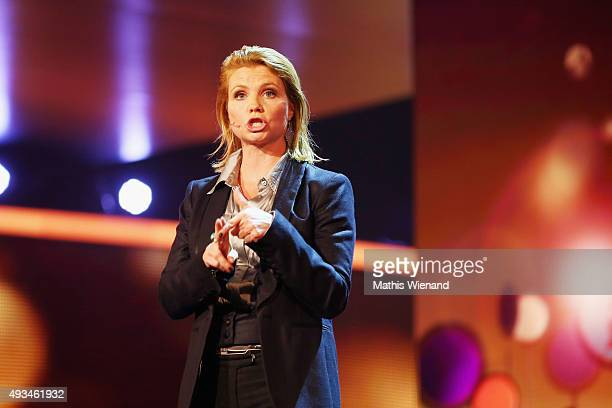 Annette Frier attends the 19th Annual German Comedy Awards at Coloneum on October 20 2015 in Cologne Germany