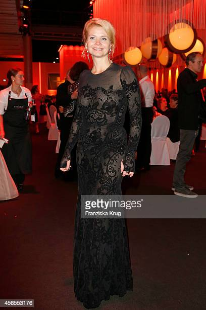 Annette Frier attends the Deutscher Fernsehpreis 2014 after show party on October 02 2014 in Cologne Germany