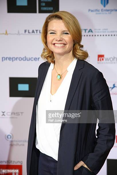 Annette Frier attends the German television award by the Deutsche Akademie fuer Fernsehen at Museum Ludwig on November 12 2016 in Cologne Germany