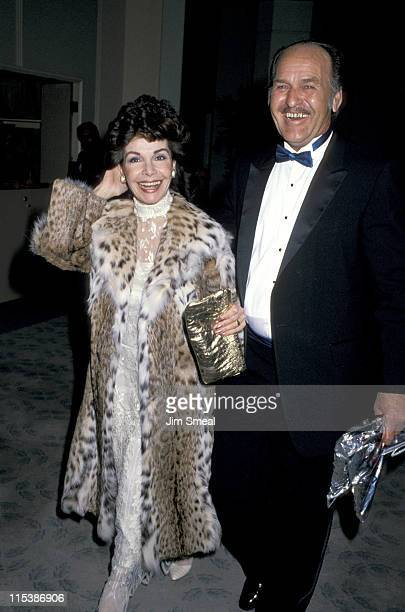 Annette Funicello and husband during 6th Annual American Cinema Awards at Beverly Hilton Hotel in Beverly Hills California United States