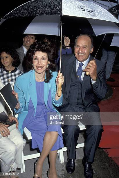 Annette Funicello and husband during Disney Legends Awards at Walt Disney Studios in Burbank California United States