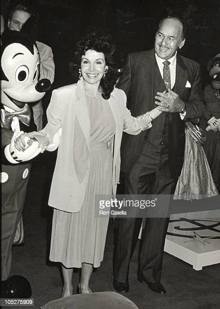 Annette Funicello husband Gary during Disney Legends Awards at Walt Disney Studios in Burbank California United States