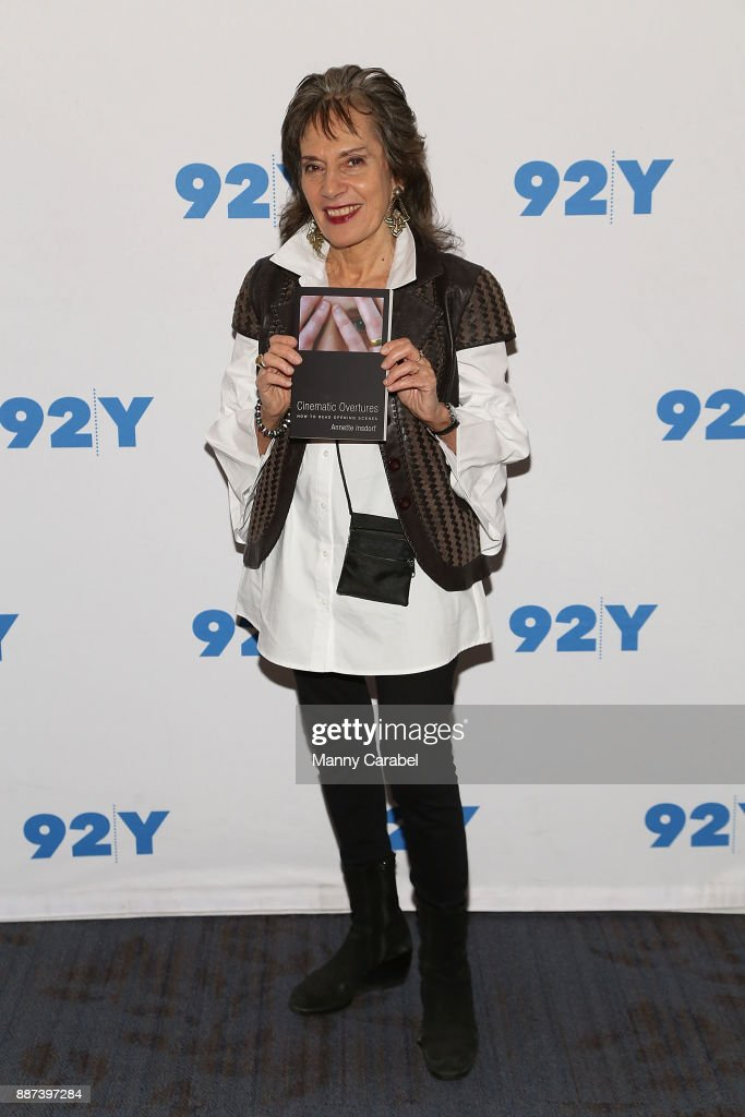 Annette Insdorf attends 92nd Street Y presents A Special Conversation with Ken Burns and Annette Insdorf at 92nd Street Y on December 6, 2017 in New York City.