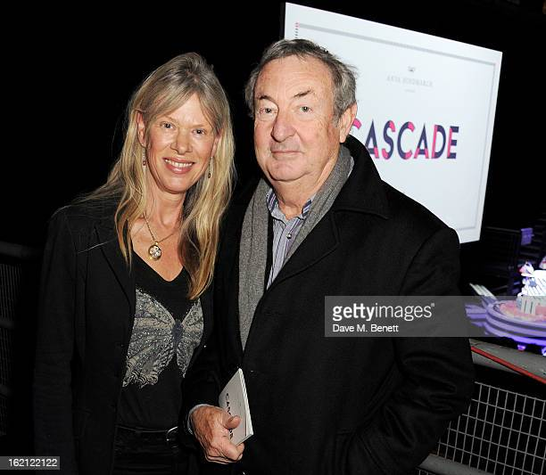 Annette Mason and Nick Mason attend the Anya Hindmarch Autumn/Winter 2013 presentation during London Fashion Week at P3 on February 19 2013 in London...