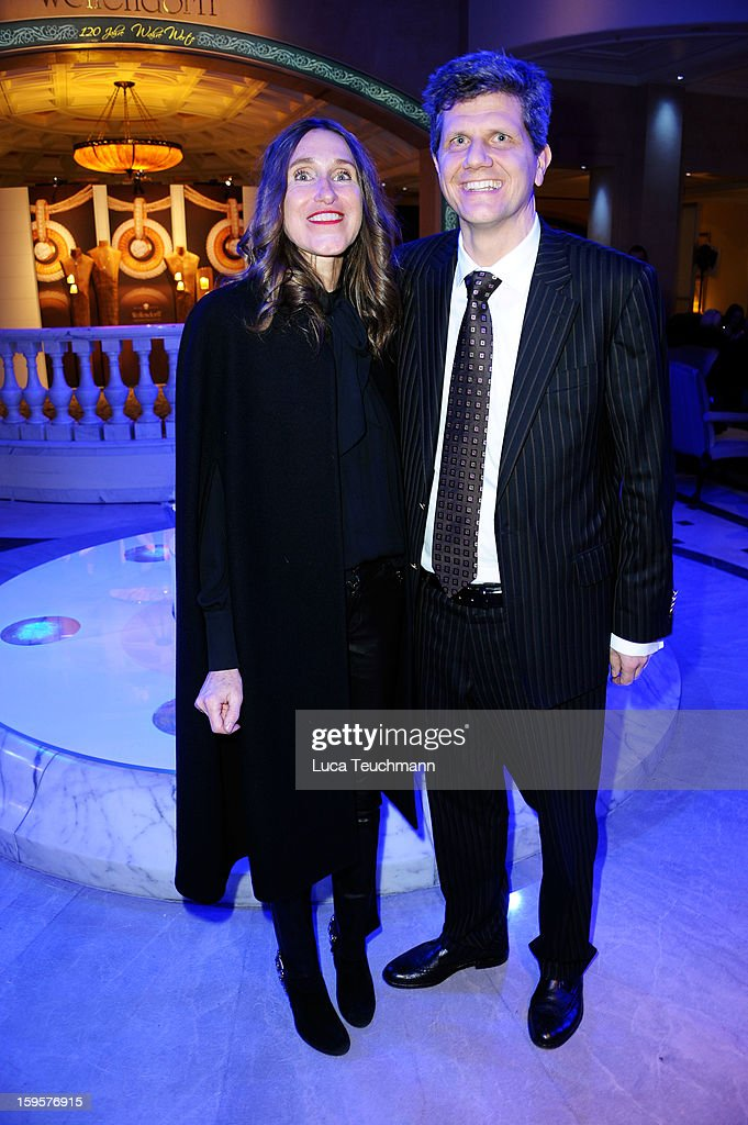 Annette Weber and Georg Wellendorf attend 120 Years Anniversary Wellendorff during Mercedes-Benz Fashion Week Autumn/Winter 2013/14 at Hotel Adlon Kempinski on January 16, 2013 in Berlin, Germany.