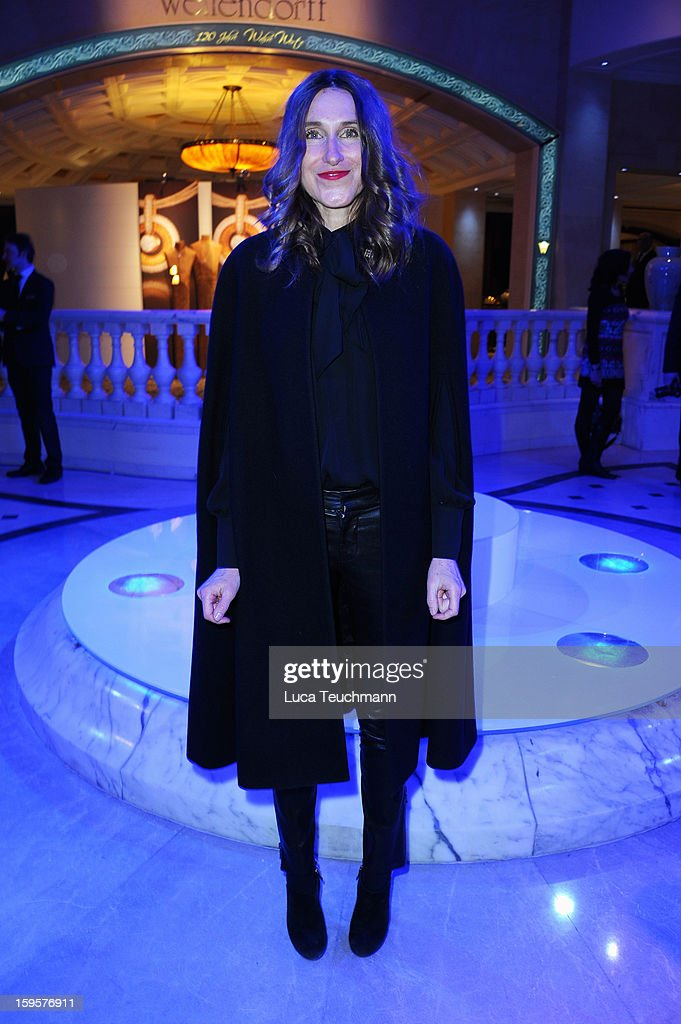Annette Weber attends 120 Years Anniversary Wellendorff during Mercedes-Benz Fashion Week Autumn/Winter 2013/14 at Hotel Adlon Kempinski on January 16, 2013 in Berlin, Germany.