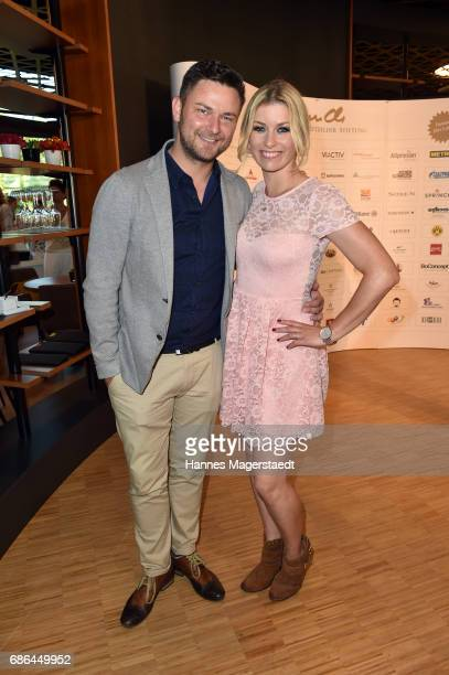 Annica Hansen and her boyfriend Marcel attend the Pre Golf Party during the 9th Golf Charity Cup hosted by the Christoph Metzelder Foundation on May...