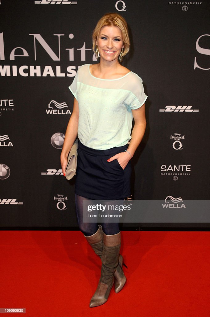 Annica Hansen attends Michalsky Style Nite Arrivals - Mercedes-Benz Fashion Week Autumn/Winter 2013/14 at Tempodrom on January 18, 2013 in Berlin, Germany.
