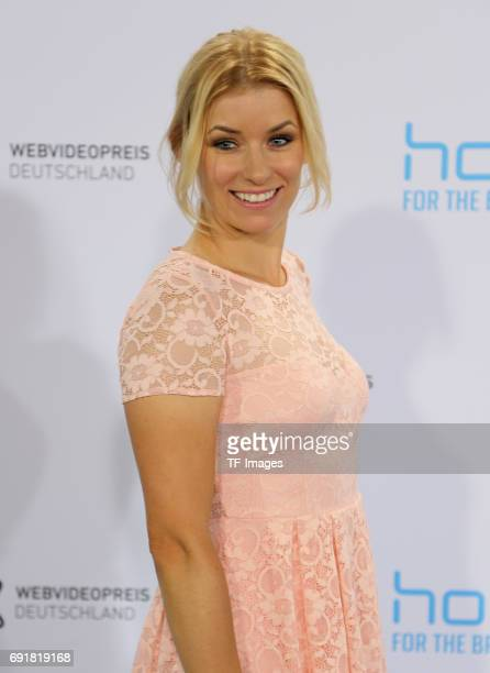 Annica Hansen attends the Webvideopreis Deutschland 2017 at ISS Dome on June 1 2017 in Duesseldorf Germany