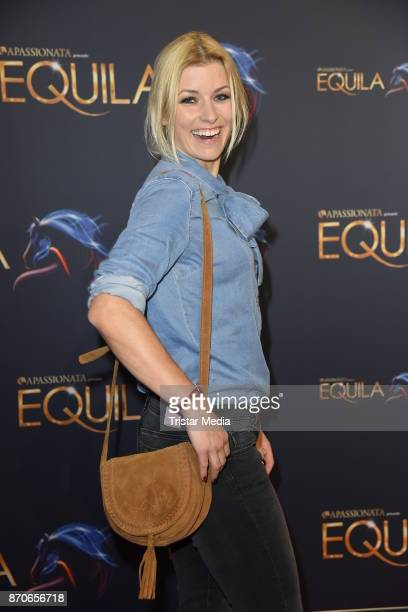 Annica Hansen during the world premiere of the horse show 'EQUILA' at Apassionata Showpalast Muenchen on November 5 2017 in Munich Germany