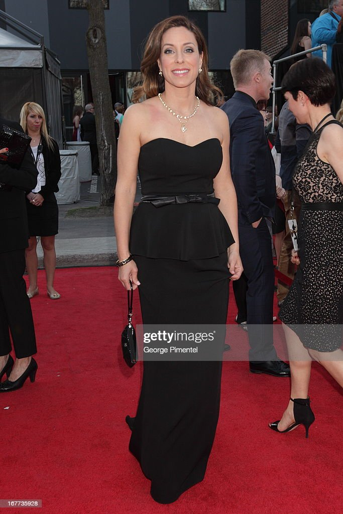 Annick Dumontet attends the 28th Gala Artis held at Theatre Denise Pelletier on April 28, 2013 in Montreal, Canada.