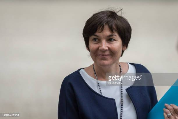 Annick Girardin France's minister for overseas departs following a cabinet meeting at the Elysee Palace in Paris France on Thursday May 18 2017